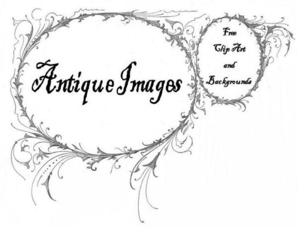 Antique art clipart #13
