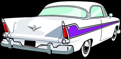 Antique car clipart.