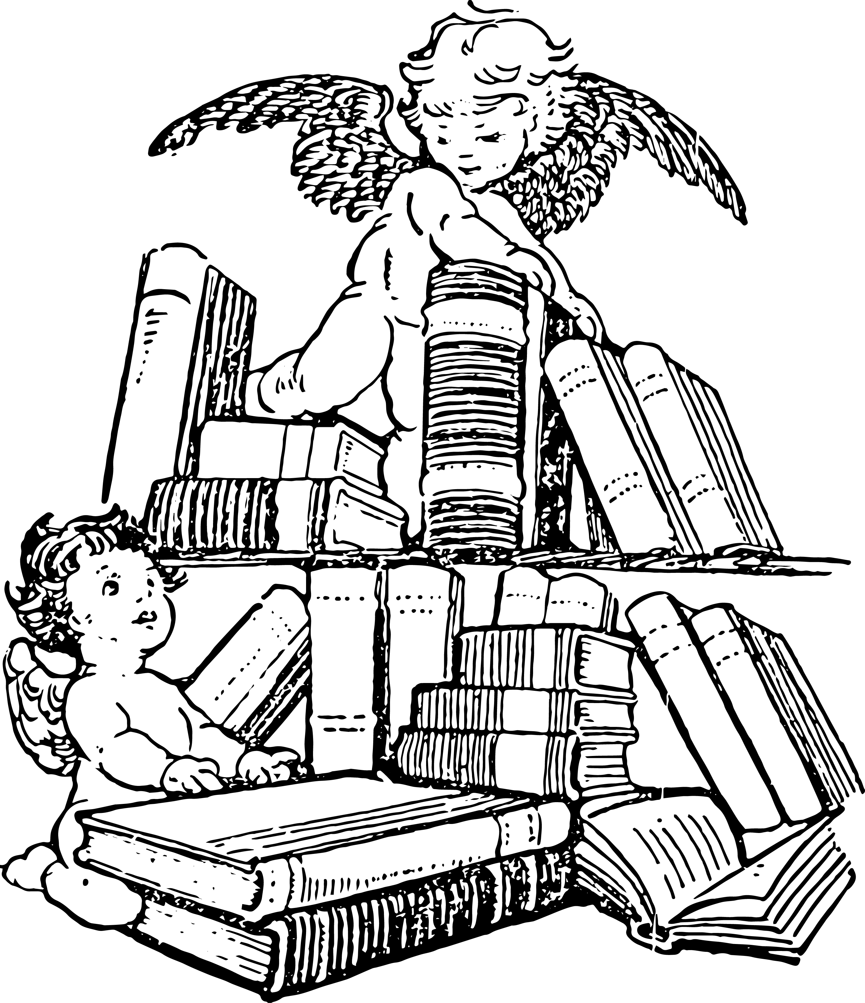 Clipart from Vintage Children's Books Part 2.