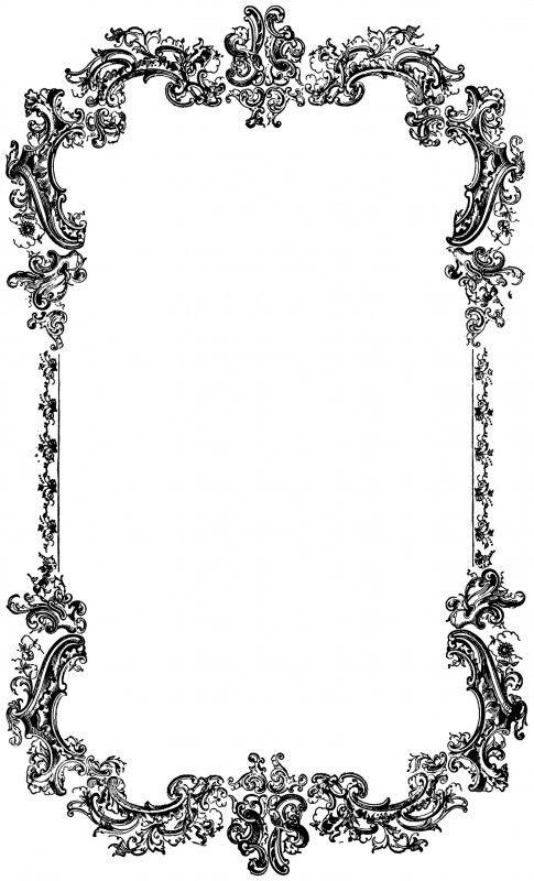 vgosn_vintage_ornate_frame_border_clip_art_image.
