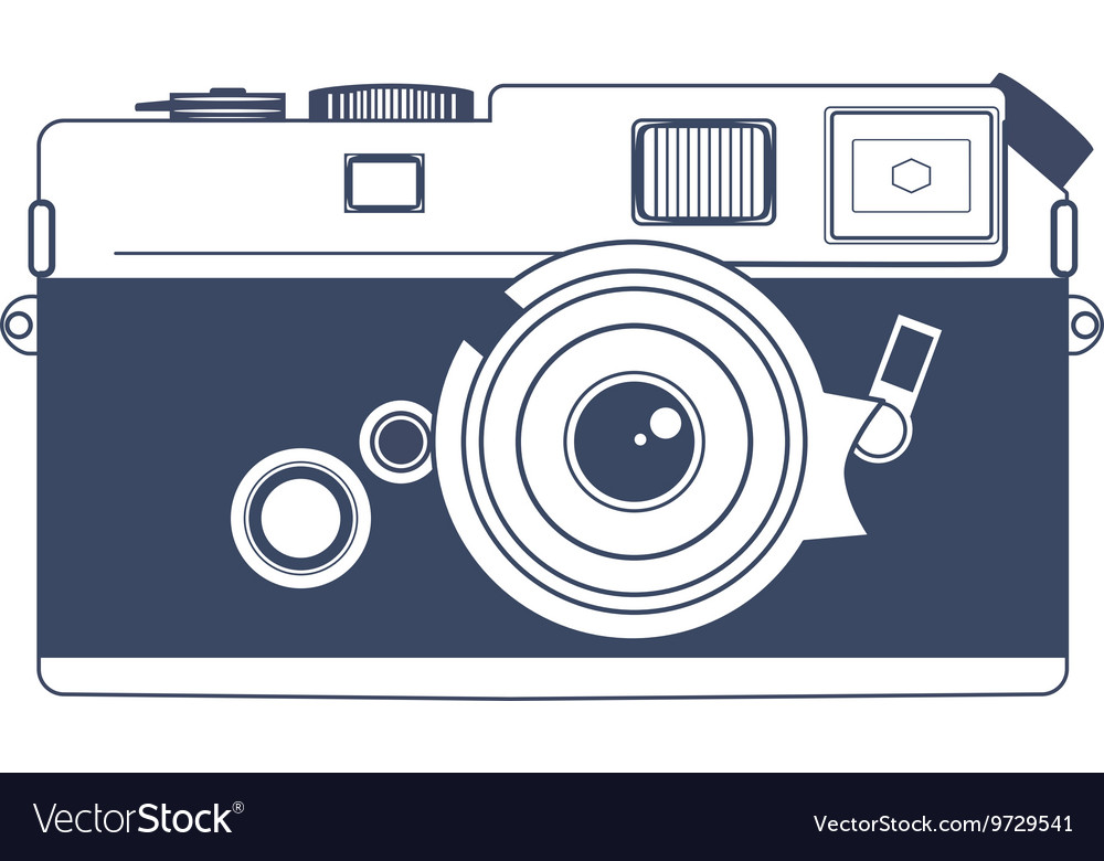 Vintage Camera Clipart Art.