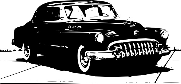 Old Car clip art Free vector in Open office drawing svg ( .svg.