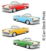 578 Classic Car free clipart.