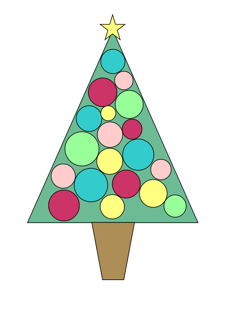 christmas ornament clipart no background.