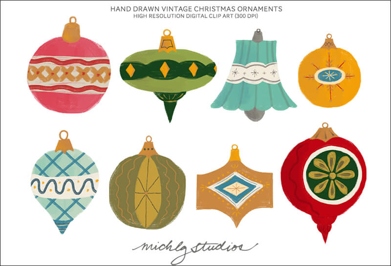 21+ Christmas Ornaments Patterns.