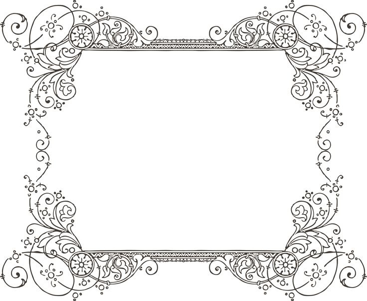 Clipart Borders For Word Free Vintage Borders Clip Art Gorgeous Free.