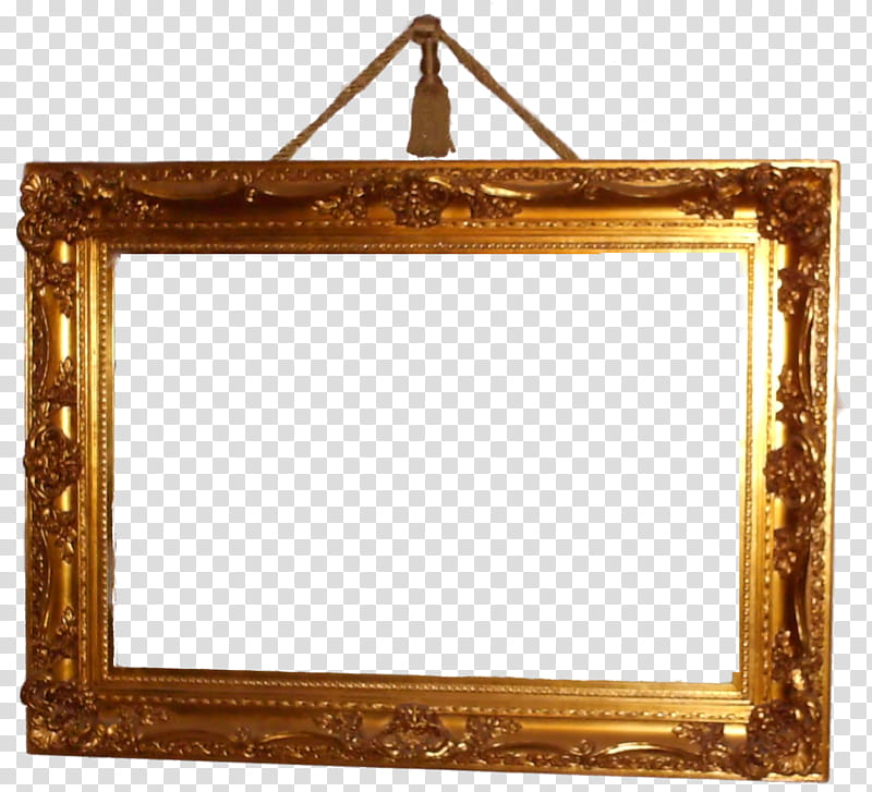 Antique Frame III, brown brass.