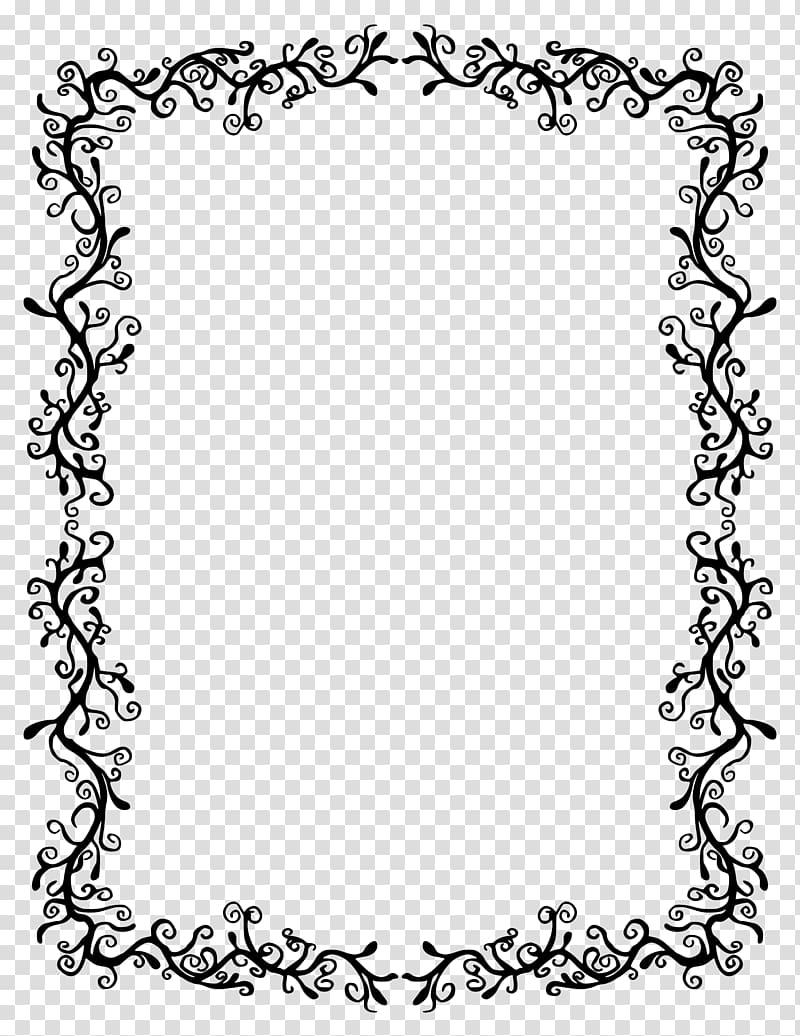 Borders and Frames , vintage border transparent background.