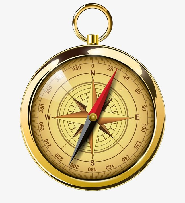 Compass, Golden Compass, High Grade PNG Transparent Clipart.