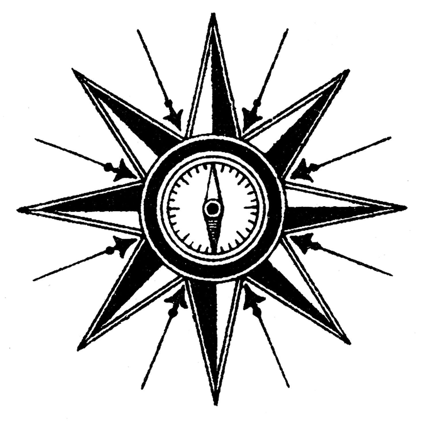 Free Compass Graphic, Download Free Clip Art, Free Clip Art.