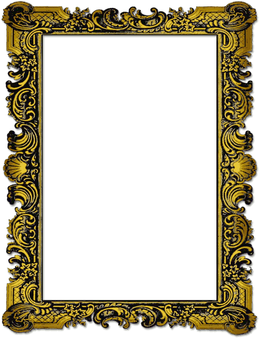 old picture frame page.