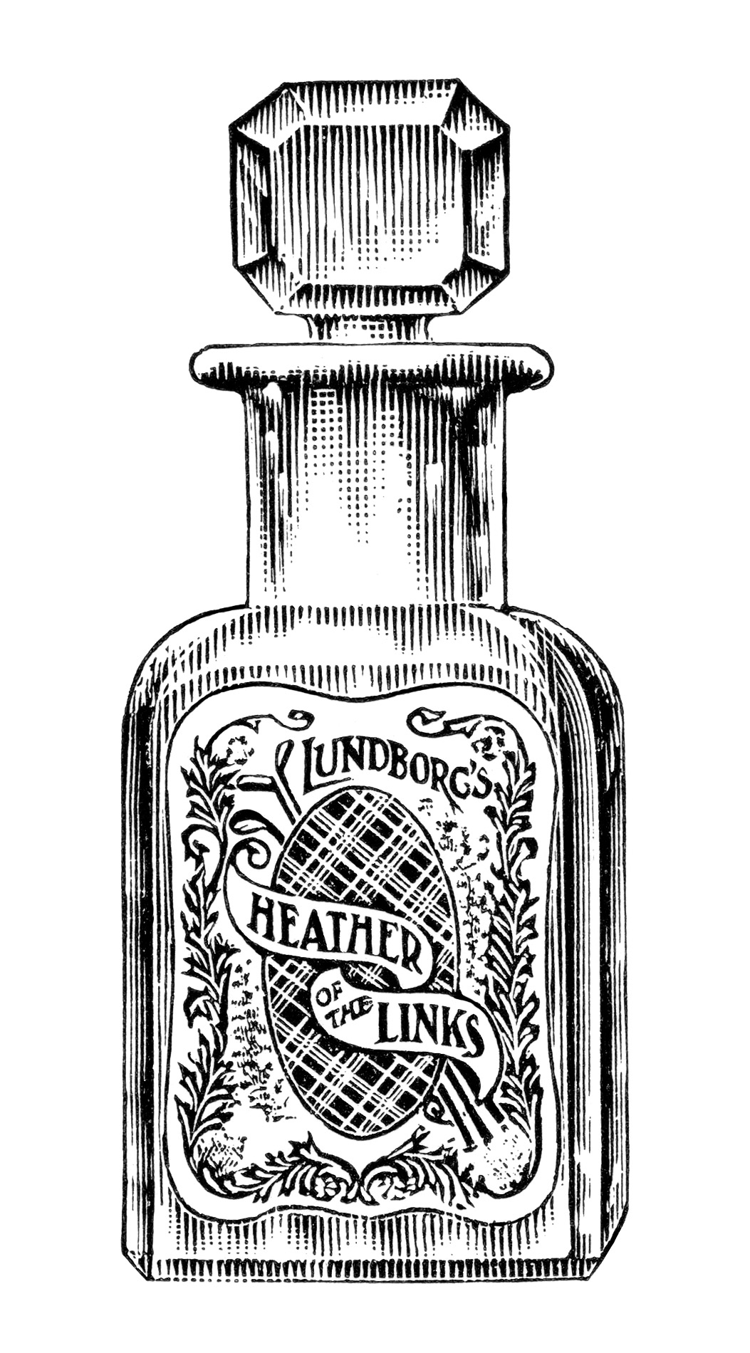Vintage Perfume Magazine Ad and Clip Art ~ Free Graphics.