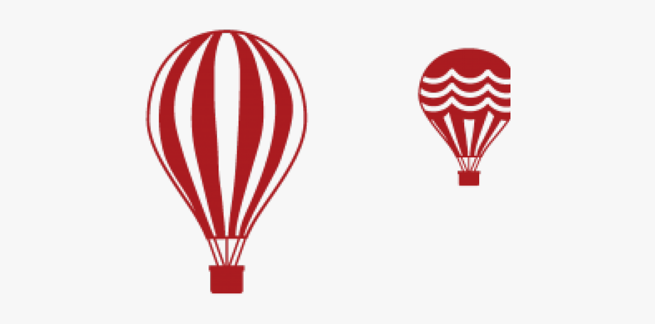 Hot Air Balloon Clipart Gold.