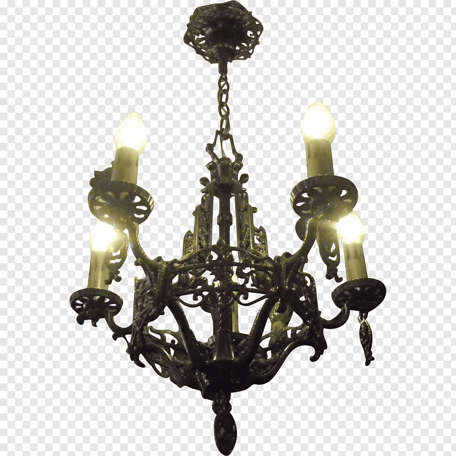 Chandelier Lighting Light fixture Antique Glass, antique.