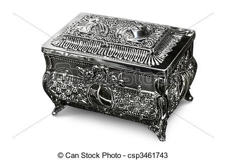 Stock Photos of Jewelry Box.