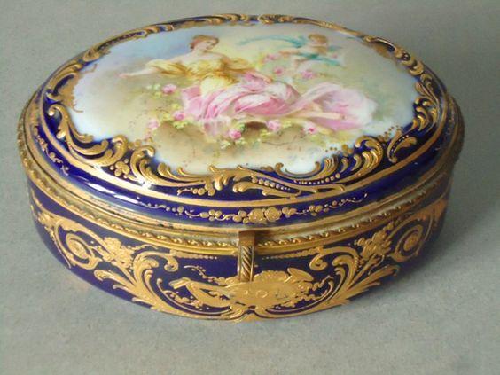 Antique jewel box clipart #16
