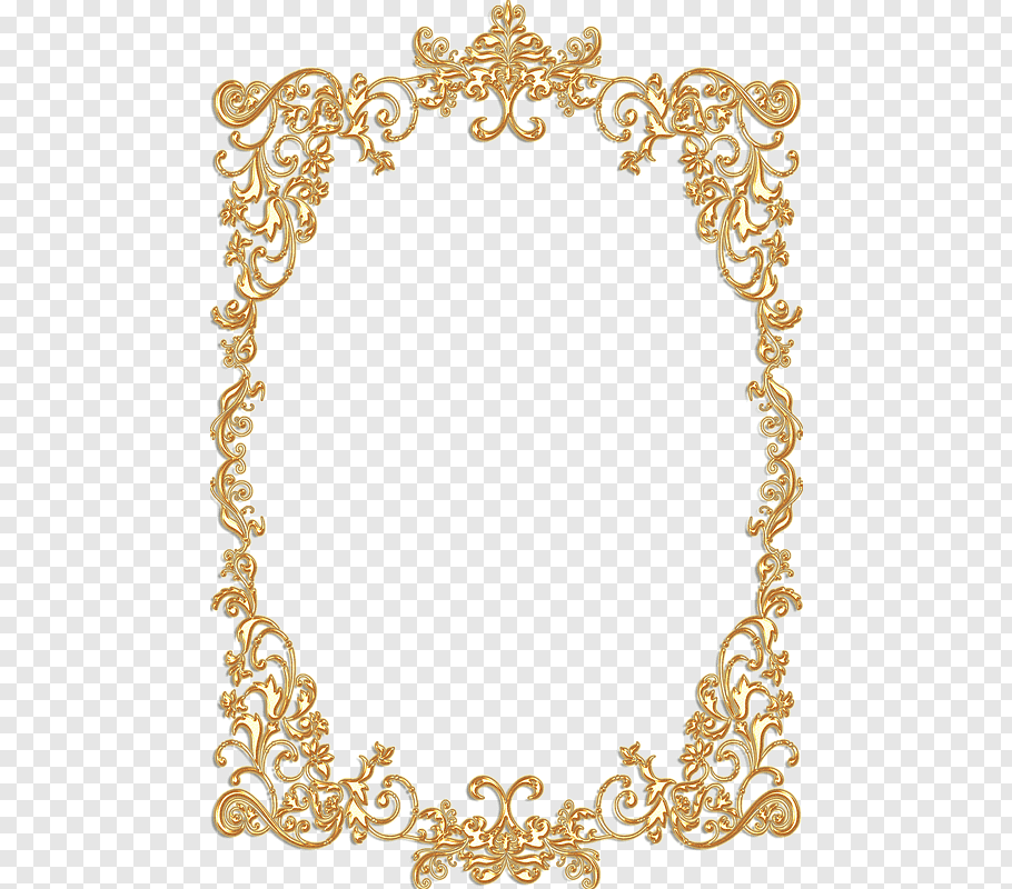 Brown floral frame, Borders and Frames Frames Gold Vintage.