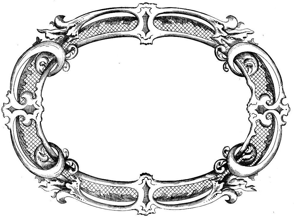 Antique jewelry note card clipart clipart images gallery for.