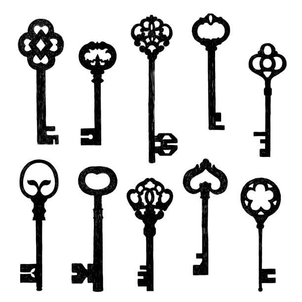 Best Skeleton Key Illustrations, Royalty.