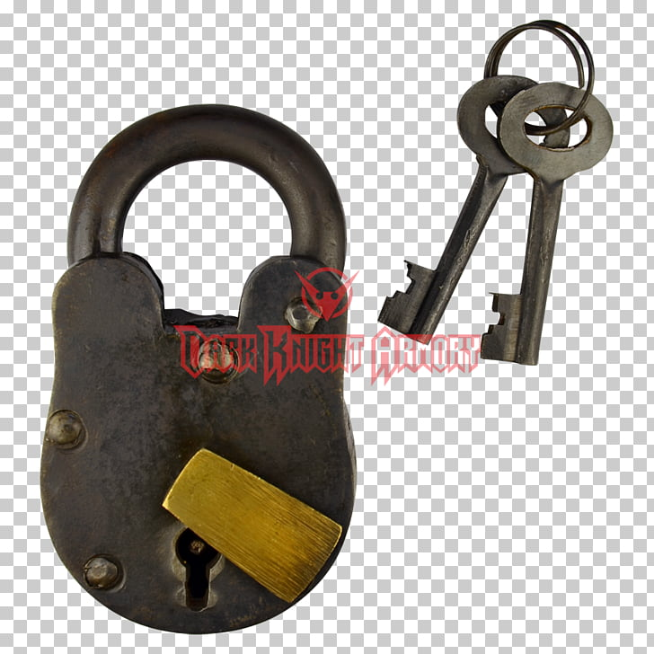 Padlock Key Combination lock Chain, Old Lock PNG clipart.