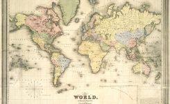 Vintage Map Vector at GetDrawings.com.