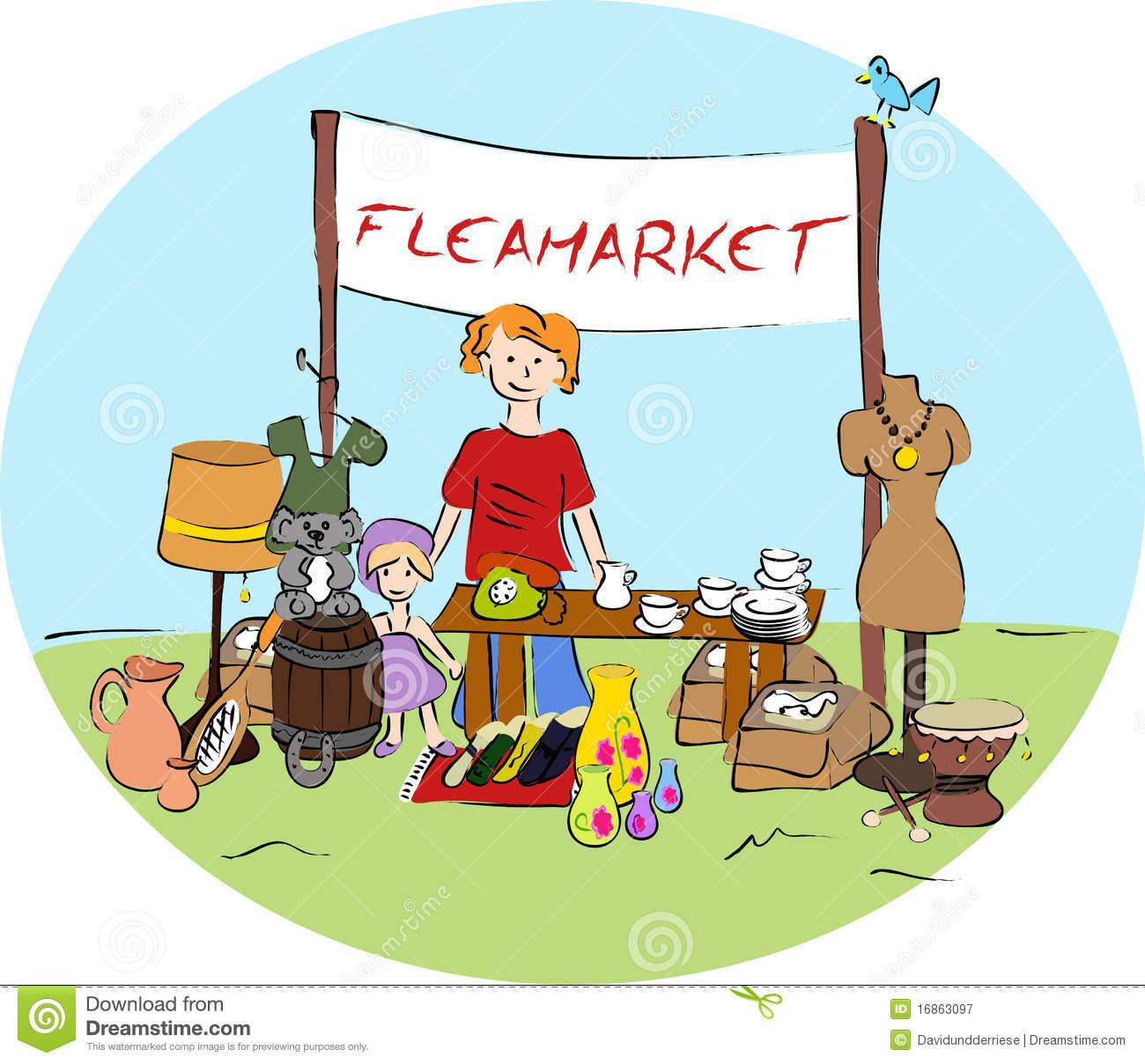 Antiques Market Free Clipart.