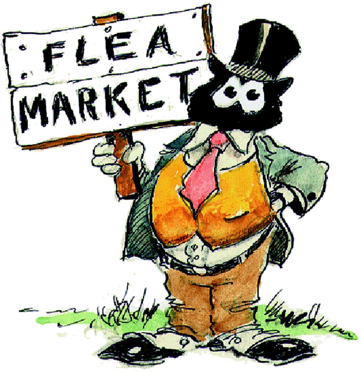 Flea market clipart.