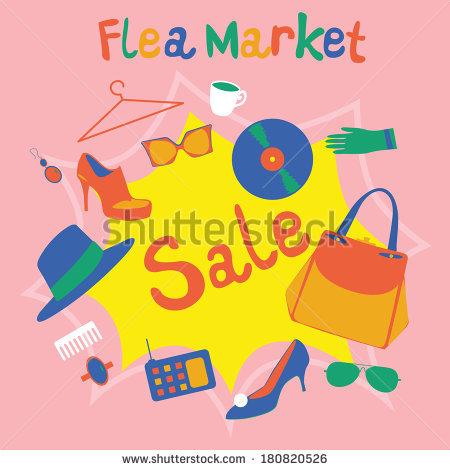 Flea Market Stock Photos, Royalty.
