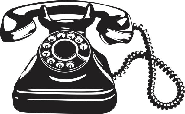 Best Antique Telephone Illustrations, Royalty.