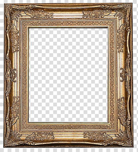 Antique Frames s, gold frame transparent background PNG.