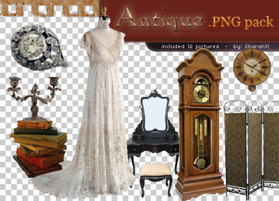 Antique png pack.