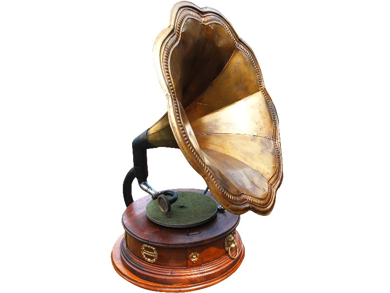 Old Gramophone PNG Image (Isolated.