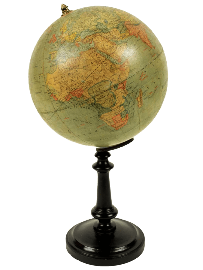 Antique Globe transparent background.