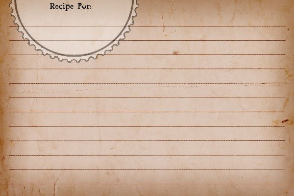 Sweetly Scrapped: {Free♥} Printable Recipe Cards. Different.