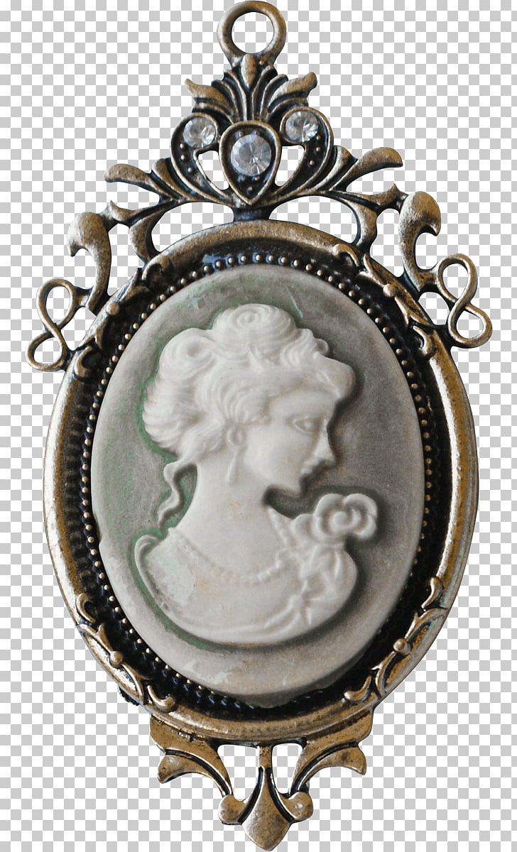 Locket Antique, jewelry PNG clipart.