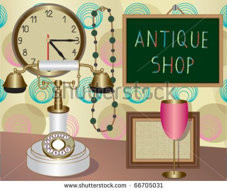Gallery For > Antique Shop Clipart.