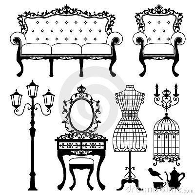 Antique shops clipart #20