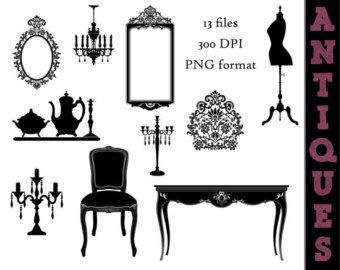 Antique shops clipart #18