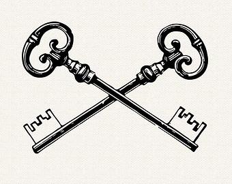 95+ Skeleton Key Clip Art.