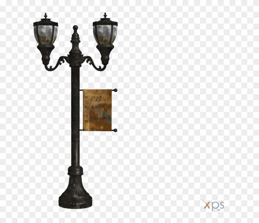 Delightful Antique Street Lamp By Luxxeon By Tiffli.
