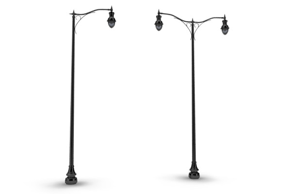 Download Free png Antique Street Lamp Clipart..