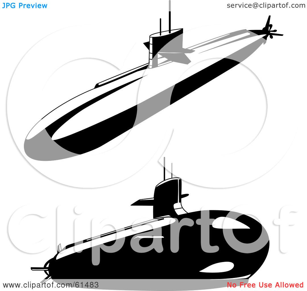 Antique submarine clipart Clipground