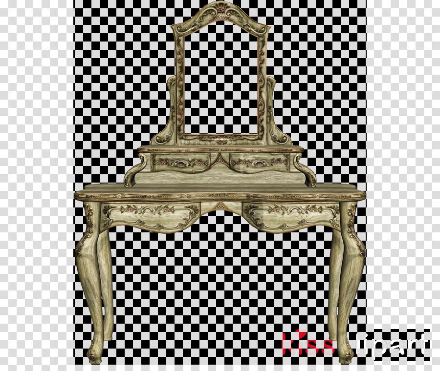 Antique, Table, Furniture, transparent png image & clipart.