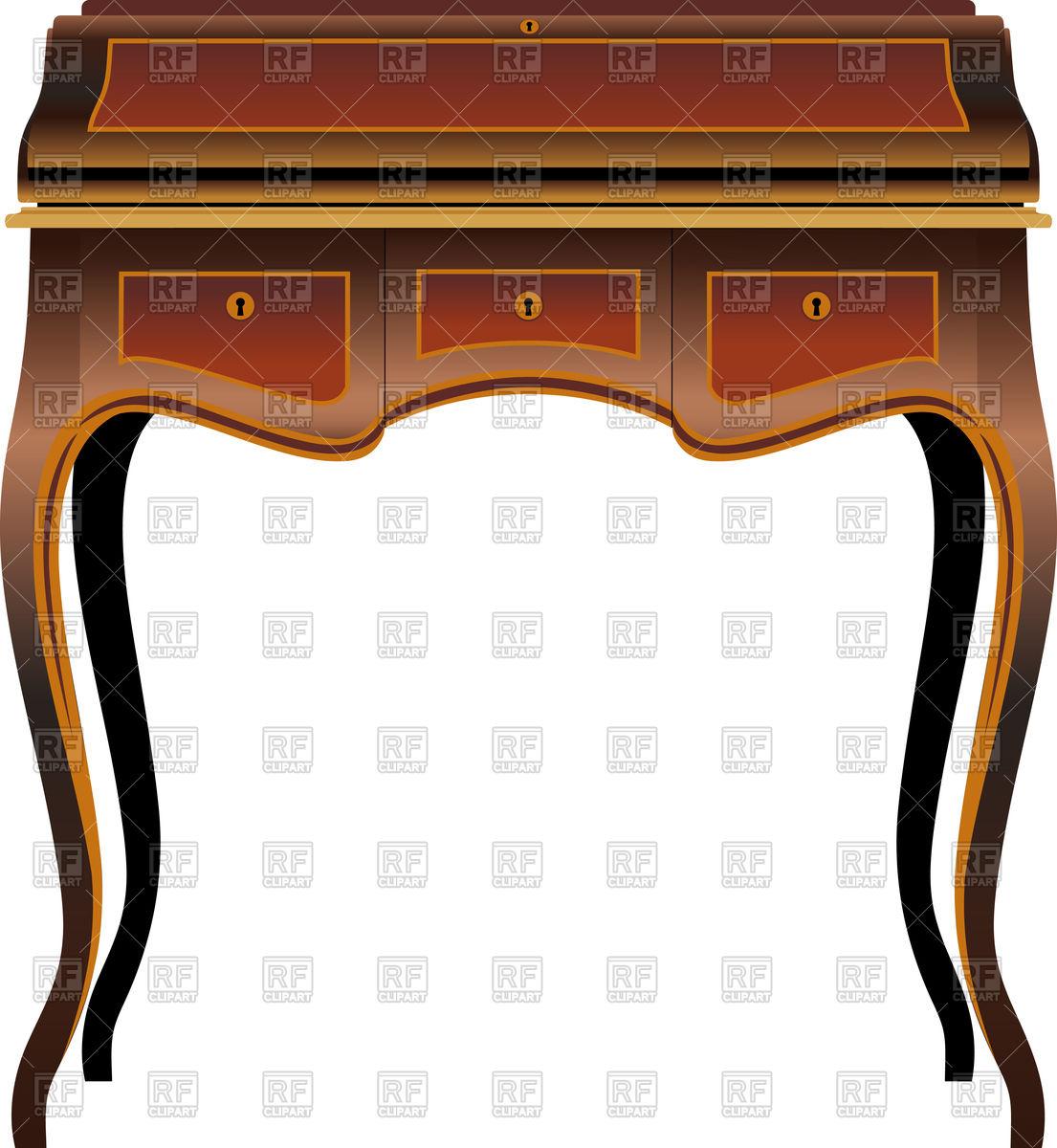 Antique Furniture Clipart.