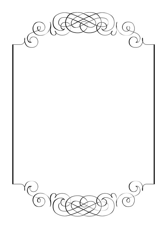 Free Printable Blank Signs.
