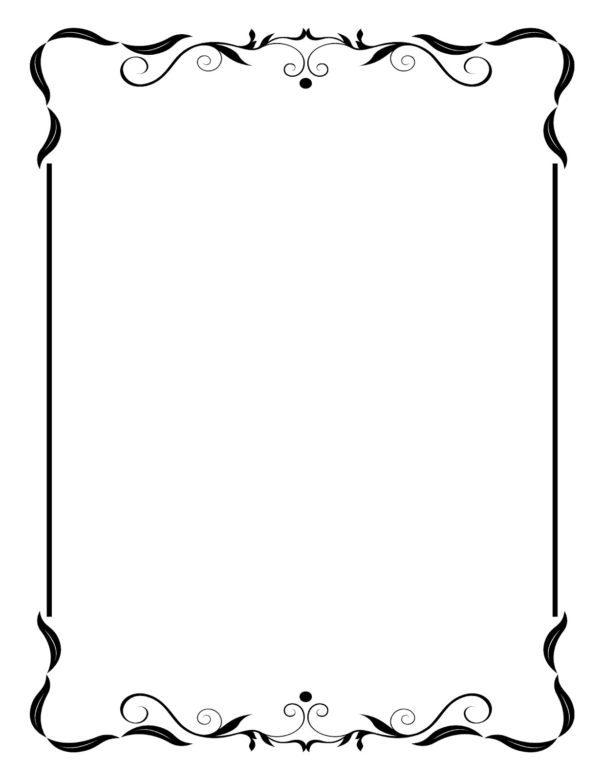 Antique template clipart #16