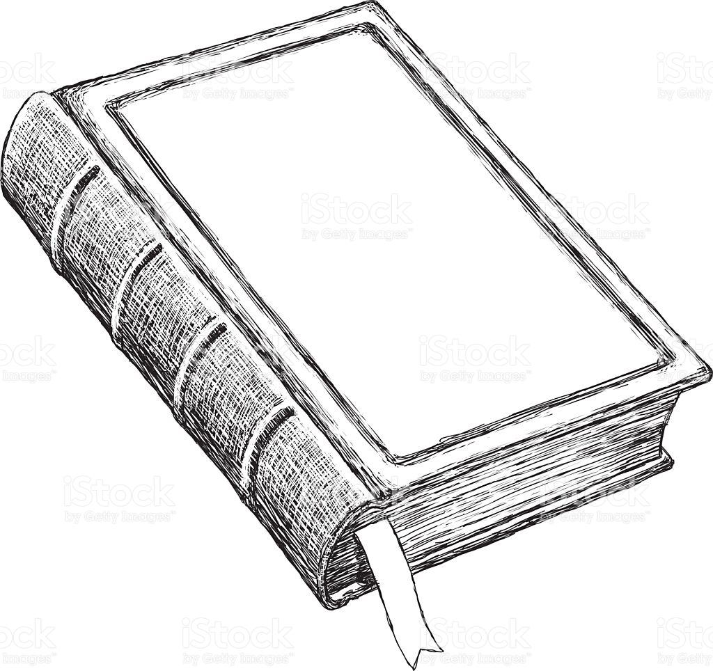 Vintage Book Clipart.