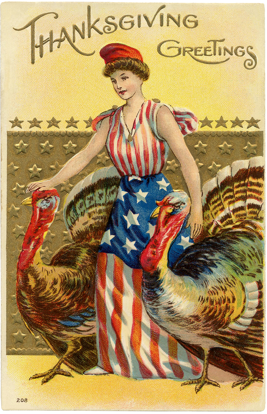 6 Thanksgiving Patriotic Clipart!.