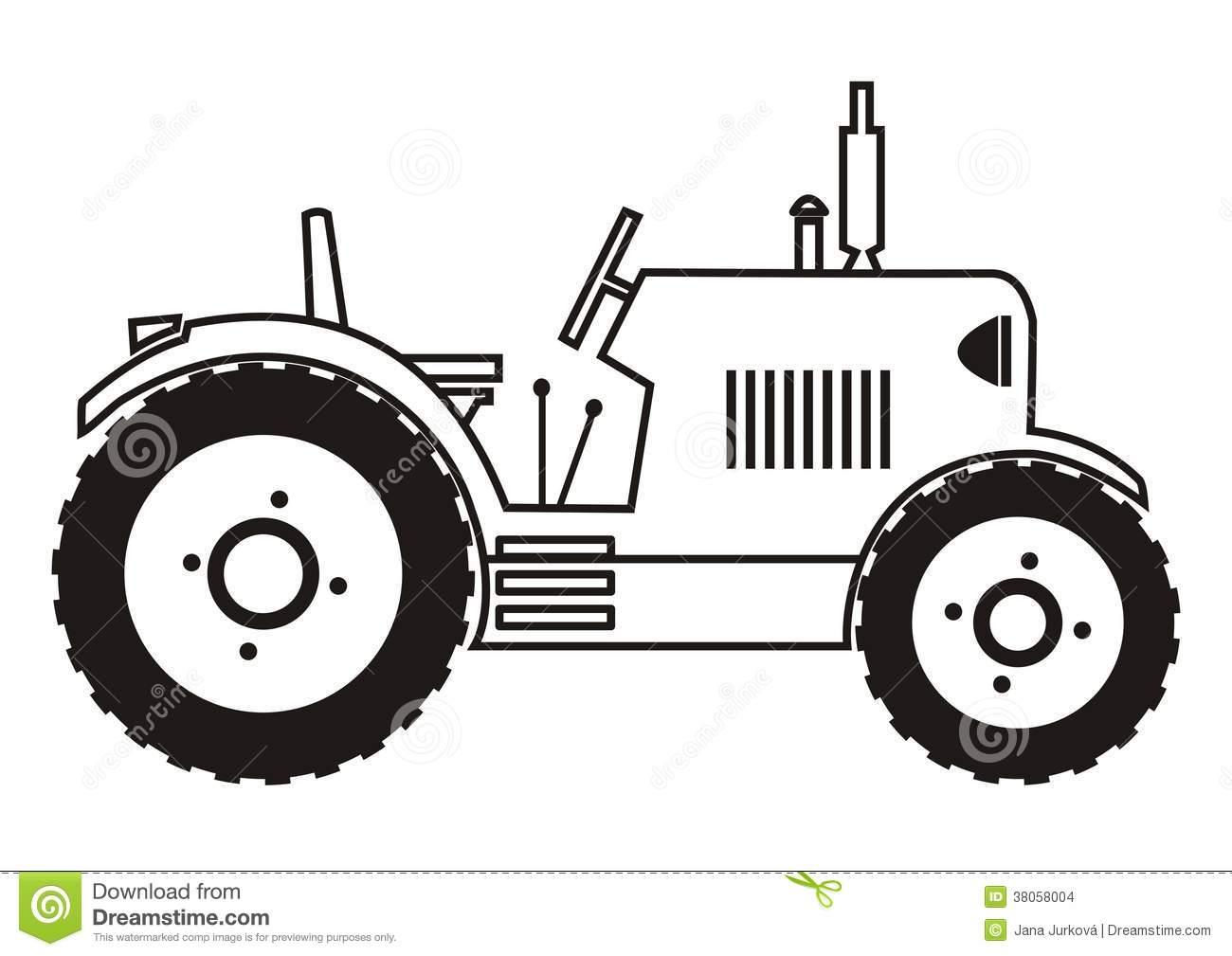 Antique Tractor Clip Art Www.galleryhip.com The.
