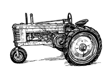 1,060 Old Tractor Cliparts, Stock Vector And Royalty Free Old.